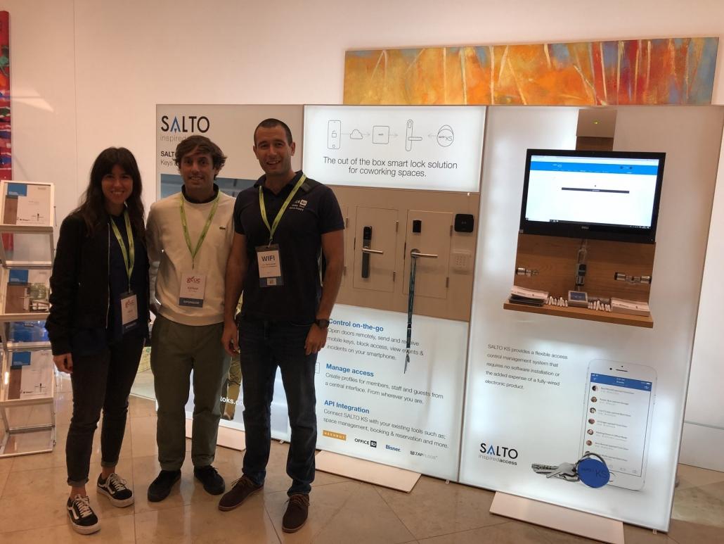 GCUC London 2018 Salto team