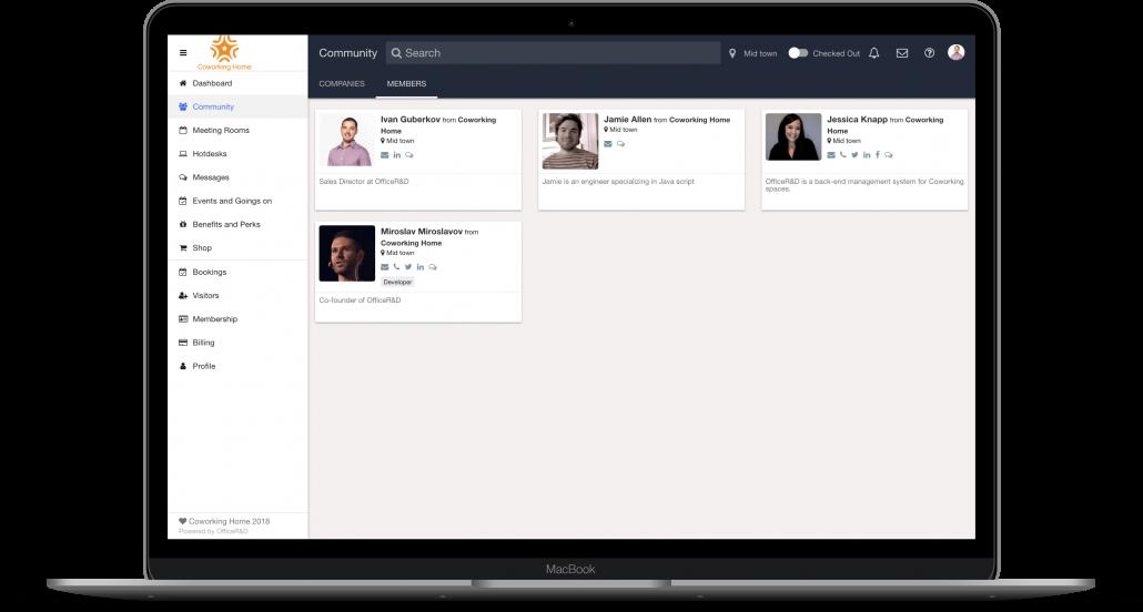 coworking management platform