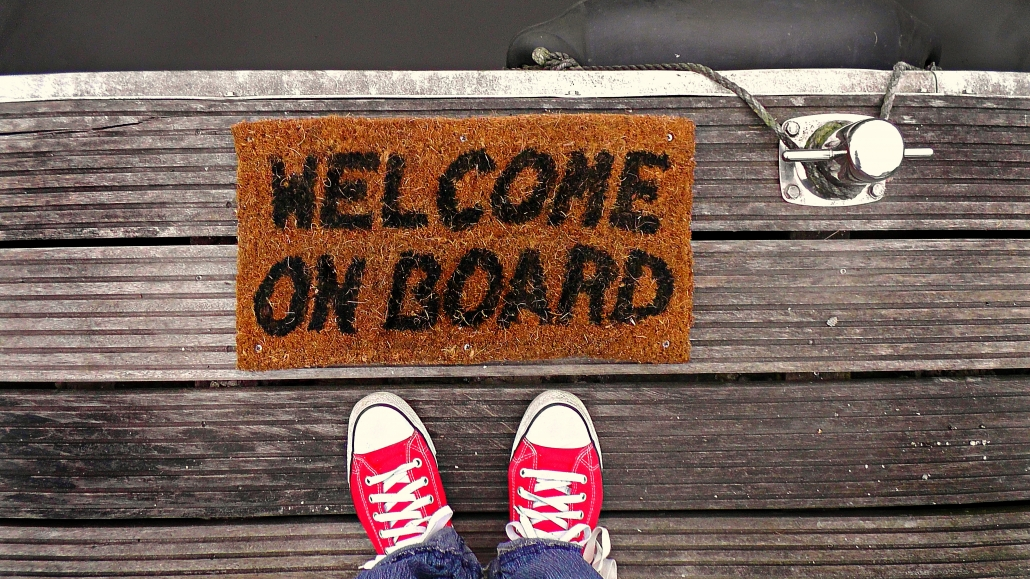 onboarding stage coworking spaces