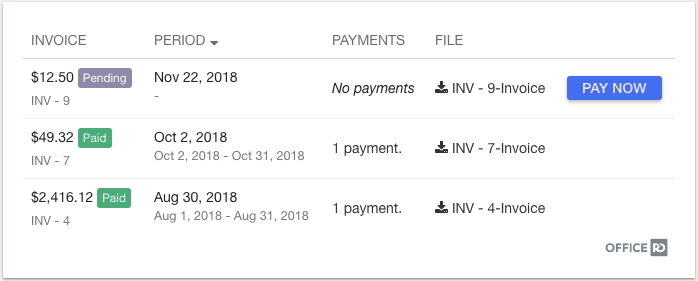 coworking payment