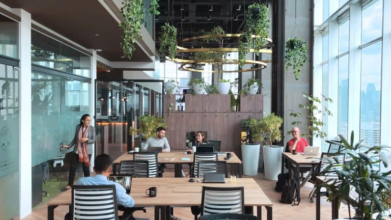 greenhouse coworking space indonesia