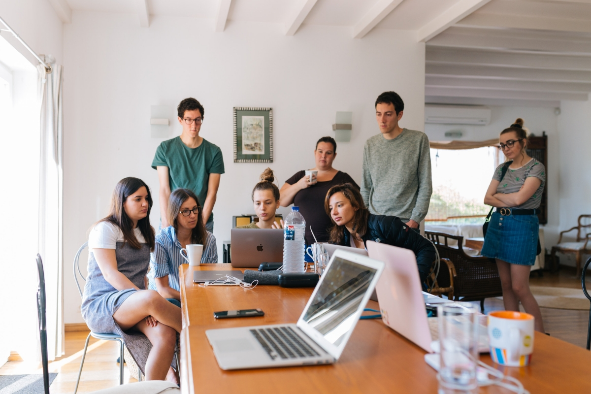 scaling coworking space process team