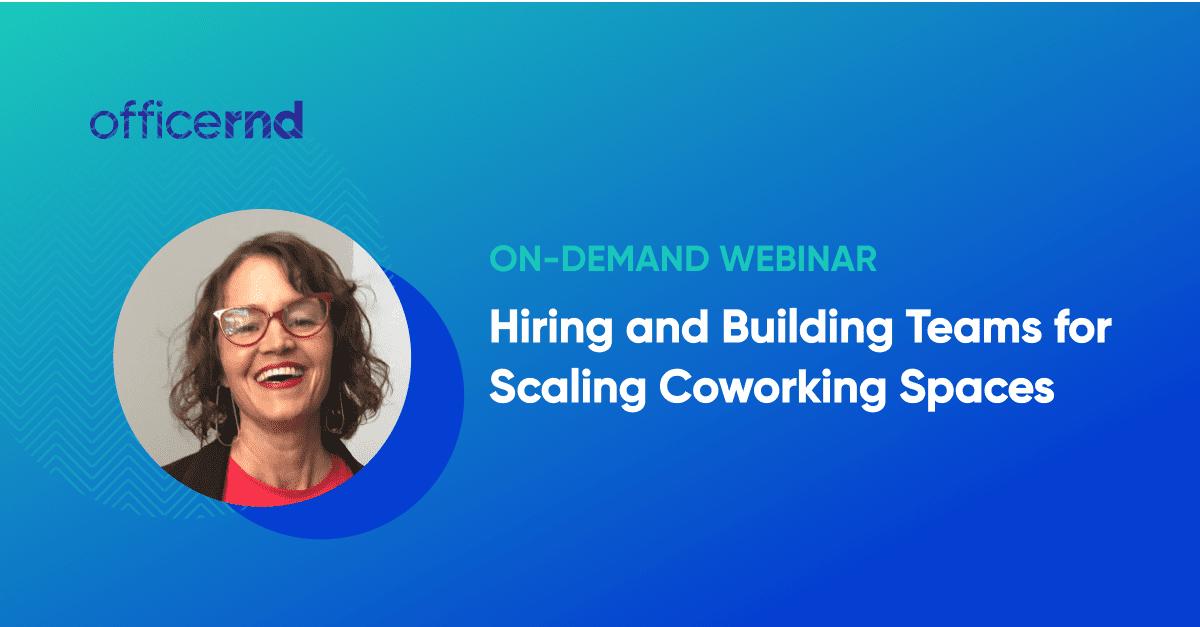 hiring teams coworking spaces
